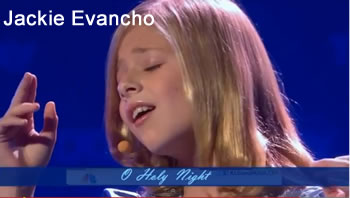 Jackie Evancho singing Oh Holy Night